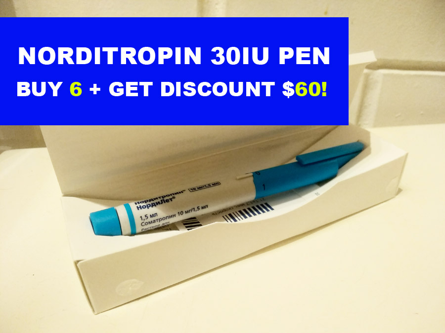 Norditropin 30iu pen HGH Save now $60